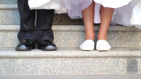 Wedding Feet 2 Footage
