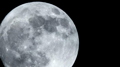 full moon close time lapse 11326 Footage