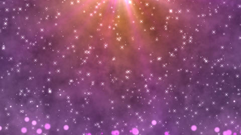 Light star bubble Violet CG動画