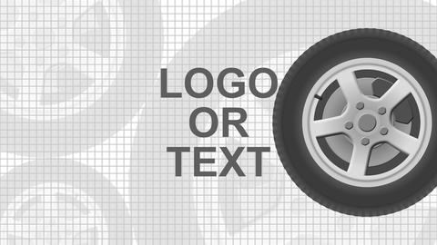 Wheel Logo Reveal After Effects Template