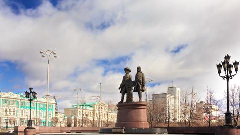 Vasily Tatischevv and Wilhelm de Genin. Zoom. Yeka Footage