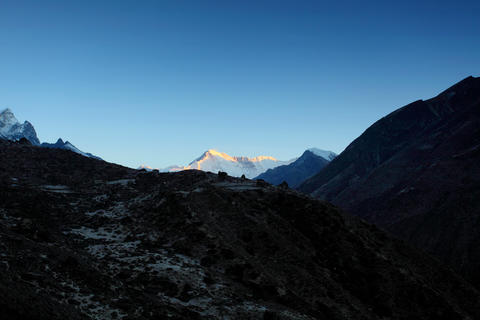 4K. Timelapse sunrise in the mountains Cho Oyu, Hi Footage