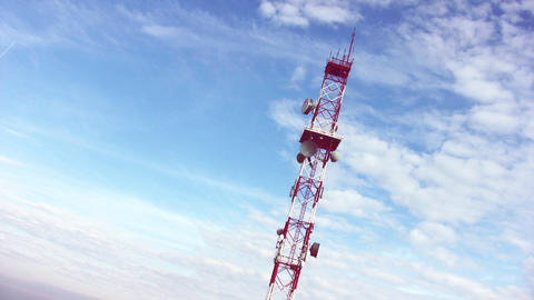 Broadcast Tower stock footage