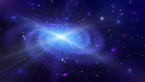Deep Space Galaxy Animation