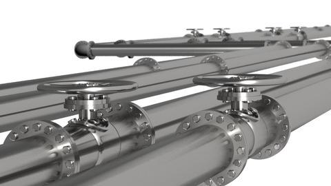 Pipeline Loop Animation