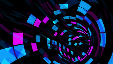 Disco Dance Tunnel F 03 4k Animation