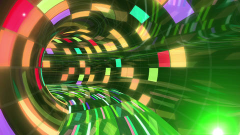 Disco Dance Tunnel Dx 01f 4k Animation