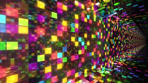 Disco Dance Tunnel C 04f 4k Stock Video Footage