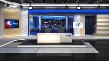 News Studio 101 After Effects Project
