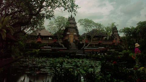 Timelapse Bali temple Live Action
