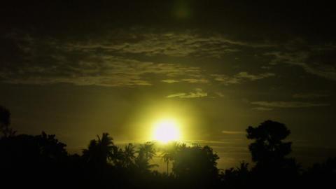 Timelapse Bali sunrise Live Action