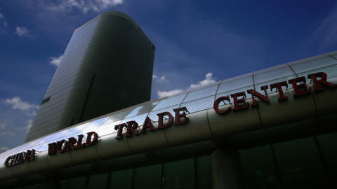 Timelapse China World Trade Centre Footage