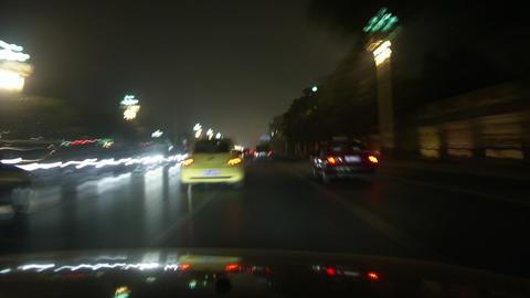 Timelapse Beijing drive Footage
