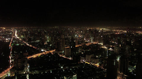 Timelapse Bangkok skyline Live Action