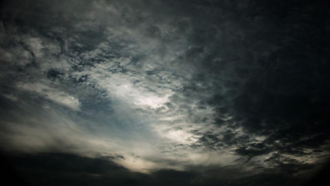 Timelapse altocumulus clouds Live Action
