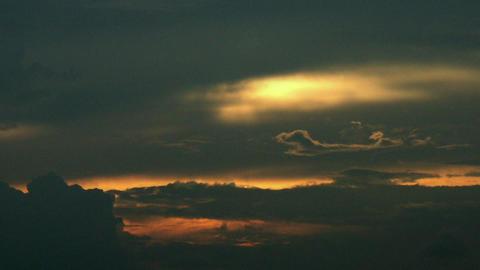 Timelapse dusk sky Footage