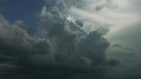 Timelapse cumulus clouds Footage