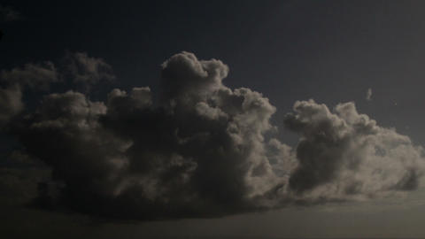 Timelapse storm clouds Footage