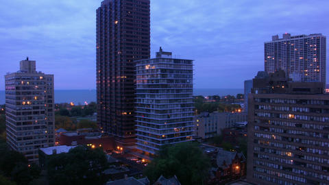 Timelapse downtown apartment Live Action