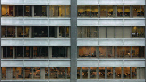 Timelapse Building Windows stock footage