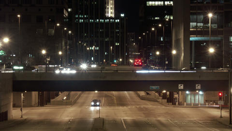 Timelapse Illinois traffic Live Action