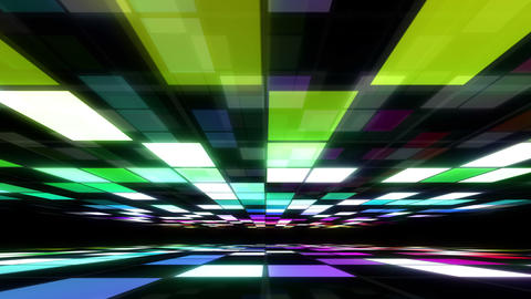 Disco Dance Floor Room A 03 4k Animation