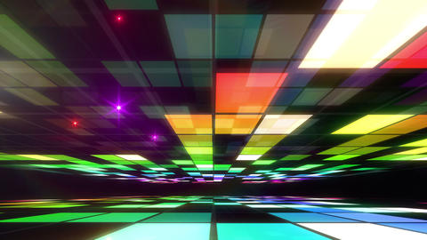 Disco Dance Floor Room A 03f 4k, Stock Animation