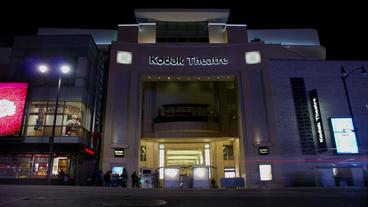 Timelapse Kodak Theatre stock footage