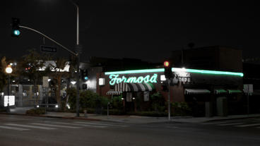 Timelapse Farmosa Bar intersection Footage
