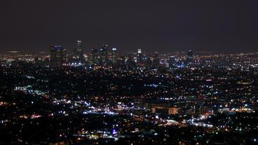 Timelapse Los Angeles landscape Footage