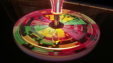 Timelapse roulette wheel Footage