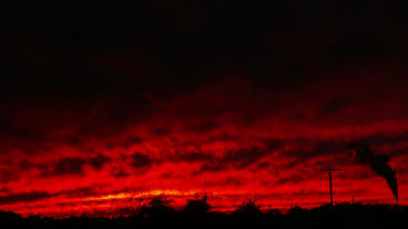 Timelapse red sky Footage
