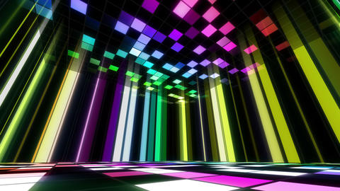 Disco Dance Floor Room B 02 4k Animation