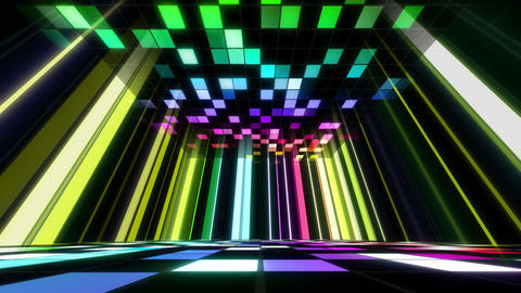 Disco Dance Floor Room B 03 4k Animation