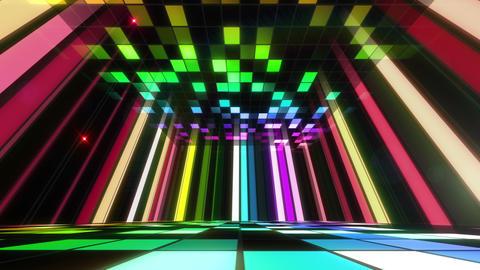 Disco Dance Floor Room B 03f 4k, Stock Animation