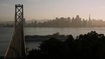 Timelapse San Francisco skyline Footage