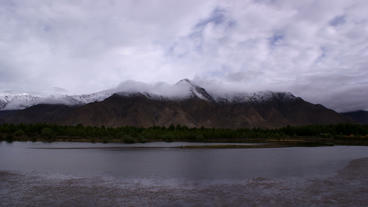 Timelapse mountain range Footage