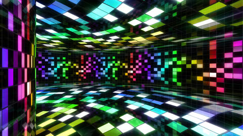 Disco Dance Floor Wall C 01 4k Animation