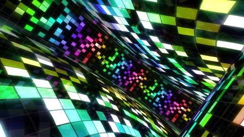 Disco Dance Floor Wall C 03 4k Animation