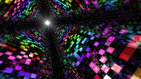 Disco Dance Tunnel A 03 4k Animation