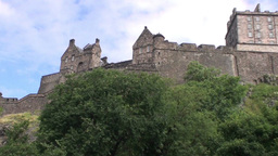 Edinburgh Castle Footage