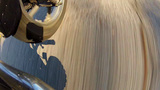 Road Whizzing By Beneath Motorcycle stock footage
