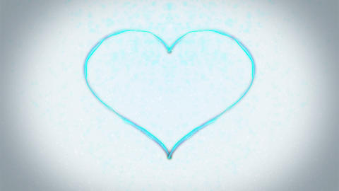 Heart background Corcovado CG動画