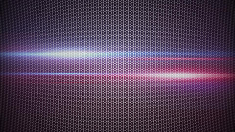 metal mesh and light stripes loopable background Animation