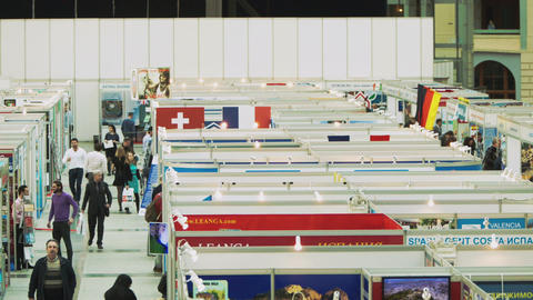 Real Estate Exhibition in Moscow Footage