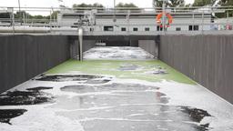 Sewage treatment plant, Waste water treatment 2 Footage