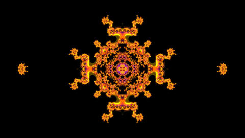 thin edge fractal Stock Video Footage
