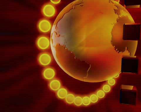 globe 65 Stock Video Footage