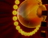Globe 65 stock footage