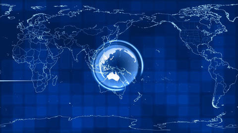 map spread over time Stock Video Footage